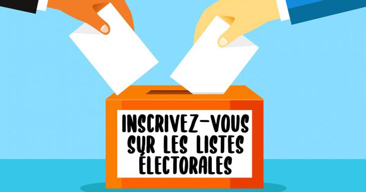 inscriptions élections
